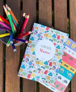 carnet de voyage Maroc WanderWorld couverture