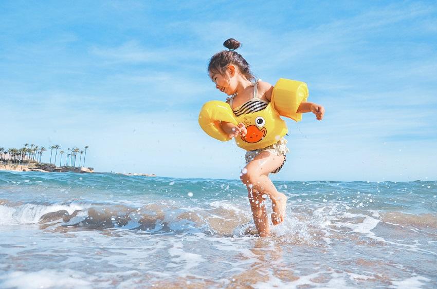 vacances à la mer avec des enfants