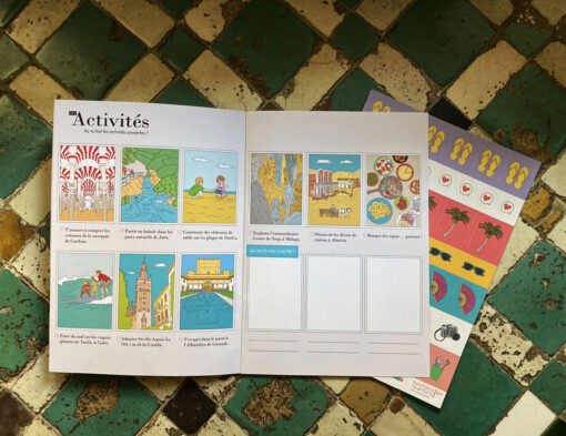 Carnet Andalousie WanderWorld activités à faire en famille