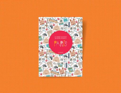 carnet de voyage à Paris