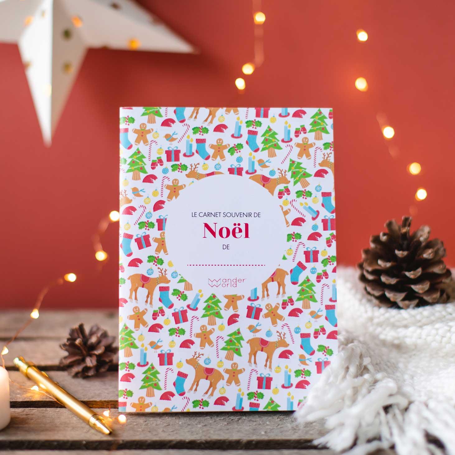 carnet souvenir de Noël de WanderWorld